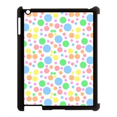 Pastel Bubbles Apple Ipad 3/4 Case (black) by StuffOrSomething