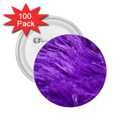 Purple Tresses 2 25  Button (100 Pack) by FunWithFibro