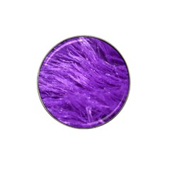 Purple Tresses Golf Ball Marker (for Hat Clip) by FunWithFibro