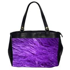 Purple Tresses Oversize Office Handbag (two Sides) by FunWithFibro