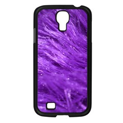 Purple Tresses Samsung Galaxy S4 I9500/ I9505 Case (black) by FunWithFibro