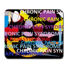 Chronic Pain Syndrome Large Mouse Pad (rectangle) by FunWithFibro