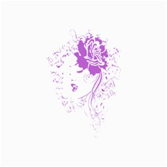 Purple Woman Of Chronic Pain Canvas 16  X 20  (unframed) by FunWithFibro