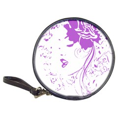 Purple Woman of Chronic Pain CD Wallet by FunWithFibro