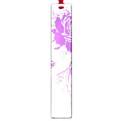 Purple Woman Of Chronic Pain Large Bookmark by FunWithFibro