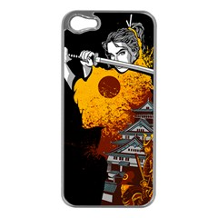 Samurai Rise Apple Iphone 5 Case (silver) by Contest1889920