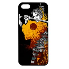 Samurai Rise Apple Iphone 5 Seamless Case (black) by Contest1889920