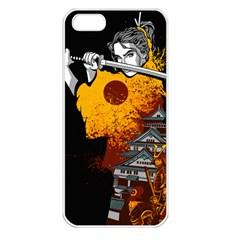 Samurai Rise Apple iPhone 5 Seamless Case (White) by Contest1889920