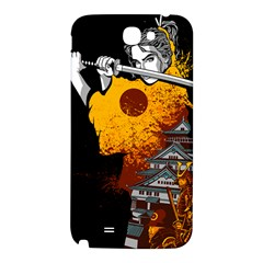 Samurai Rise Samsung Note 2 N7100 Hardshell Back Case by Contest1889920