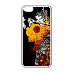 Samurai Rise Apple iPhone 5C Seamless Case (White) by Contest1889920