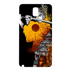 Samurai Rise Samsung Galaxy Note 3 N9005 Hardshell Back Case by Contest1889920