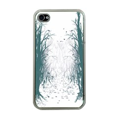 the Woods Beckon  Apple Iphone 4 Case (clear) by Contest1891613