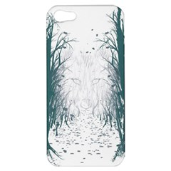 the Woods Beckon  Apple Iphone 5 Hardshell Case by Contest1891613