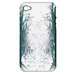the Woods Beckon  Apple Iphone 4/4s Hardshell Case (pc+silicone) by Contest1891613