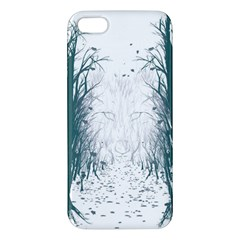 The Woods Beckon  Apple iPhone 5 Premium Hardshell Case by Contest1891613