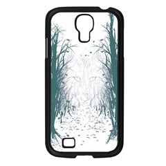 the Woods Beckon  Samsung Galaxy S4 I9500/ I9505 Case (black) by Contest1891613