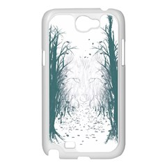 The Woods Beckon  Samsung Galaxy Note 2 Case (White) by Contest1891613