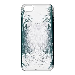the Woods Beckon  Apple Iphone 5c Hardshell Case by Contest1891613