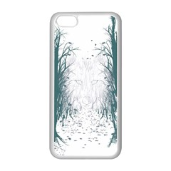 The Woods Beckon  Apple iPhone 5C Seamless Case (White) by Contest1891613
