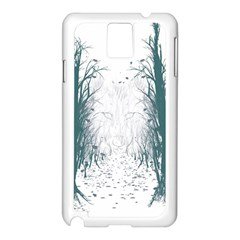 The Woods Beckon  Samsung Galaxy Note 3 N9005 Case (White) by Contest1891613