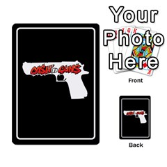 Cash N Guns   Batman Version By Twlee33 Hotmail Com   Multi Purpose Cards (rectangle)   Eruc5s9x19i6   Www Artscow Com Back 23