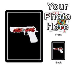 Cash N Guns   Batman Version By Twlee33 Hotmail Com   Multi Purpose Cards (rectangle)   Eruc5s9x19i6   Www Artscow Com Back 44