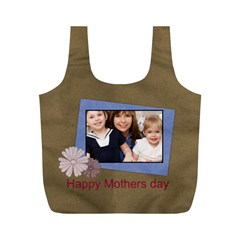 Mothers Day By Mom   Full Print Recycle Bag (m)   Hizyiiz62wy5   Www Artscow Com Back