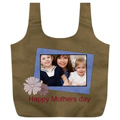 Mothers Day By Mom   Full Print Recycle Bag (xl)   9w00m8ufxvfa   Www Artscow Com Back