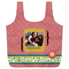 Mothers Day By Mom   Full Print Recycle Bag (xl)   Y6el4pi6onm6   Www Artscow Com Back