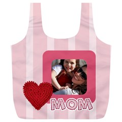 Mothers Day By Mom   Full Print Recycle Bag (xl)   Cacpuk3wv7t9   Www Artscow Com Back