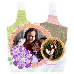 Mothers Day By Mom   Full Print Recycle Bag (xl)   L67vo2zjxkhl   Www Artscow Com Back