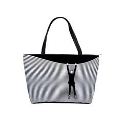 """hang On! Hang On!"" Classic Shoulder Handbag by doodlelabel"