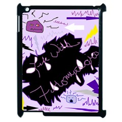 Life With Fibromyalgia Apple Ipad 2 Case (black) by FunWithFibro