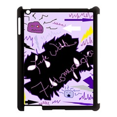 Life With Fibromyalgia Apple Ipad 3/4 Case (black) by FunWithFibro