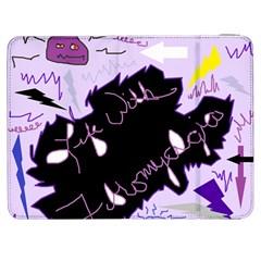 Life With Fibromyalgia Samsung Galaxy Tab 7  P1000 Flip Case by FunWithFibro