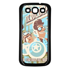 Nerdcorps Samsung Galaxy S3 Back Case (Black) by Contest1889920