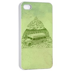 Into the Wild Apple iPhone 4/4s Seamless Case (White) by Contest1893317