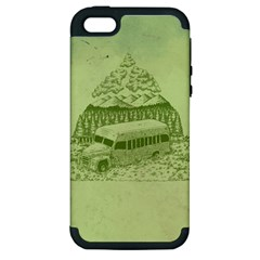 Into the Wild Apple iPhone 5 Hardshell Case (PC+Silicone) by Contest1893317