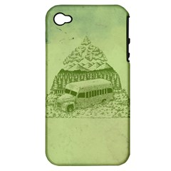 Into the Wild Apple iPhone 4/4S Hardshell Case (PC+Silicone) by Contest1893317