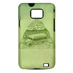 Into the Wild Samsung Galaxy S II i9100 Hardshell Case (PC+Silicone) by Contest1893317