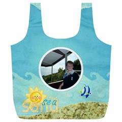Sun Sea Sand Xl Full Print Recycle Bag By Catvinnat   Full Print Recycle Bag (xl)   Ndgf2xdh4rpe   Www Artscow Com Front