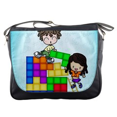 With You Life Just Fits Messenger Bag