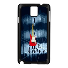 Guitar Samsung Galaxy Note 3 N9005 Case (Black) by Contest1852090