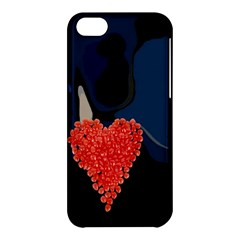 Petal Heart Apple Iphone 5c Hardshell Case