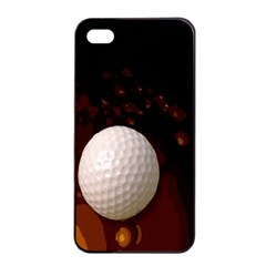 Golfball Apple Iphone 4/4s Seamless Case (black) by Contest1852090
