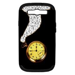 Time Flies Samsung Galaxy S III Hardshell Case (PC+Silicone) by Contest1852090