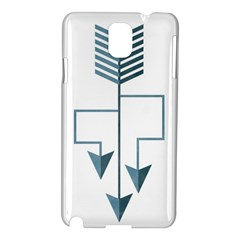 Arrow Paths Samsung Galaxy Note 3 N9005 Hardshell Case by Contest1888309