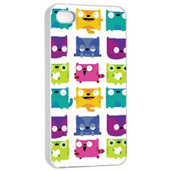 Cats Apple Iphone 4/4s Seamless Case (white) by Contest1771913
