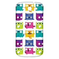 Cats Samsung Galaxy S3 S Iii Classic Hardshell Back Case by Contest1771913