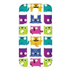 Cats Samsung Galaxy S4 I9500/i9505 Hardshell Case by Contest1771913
